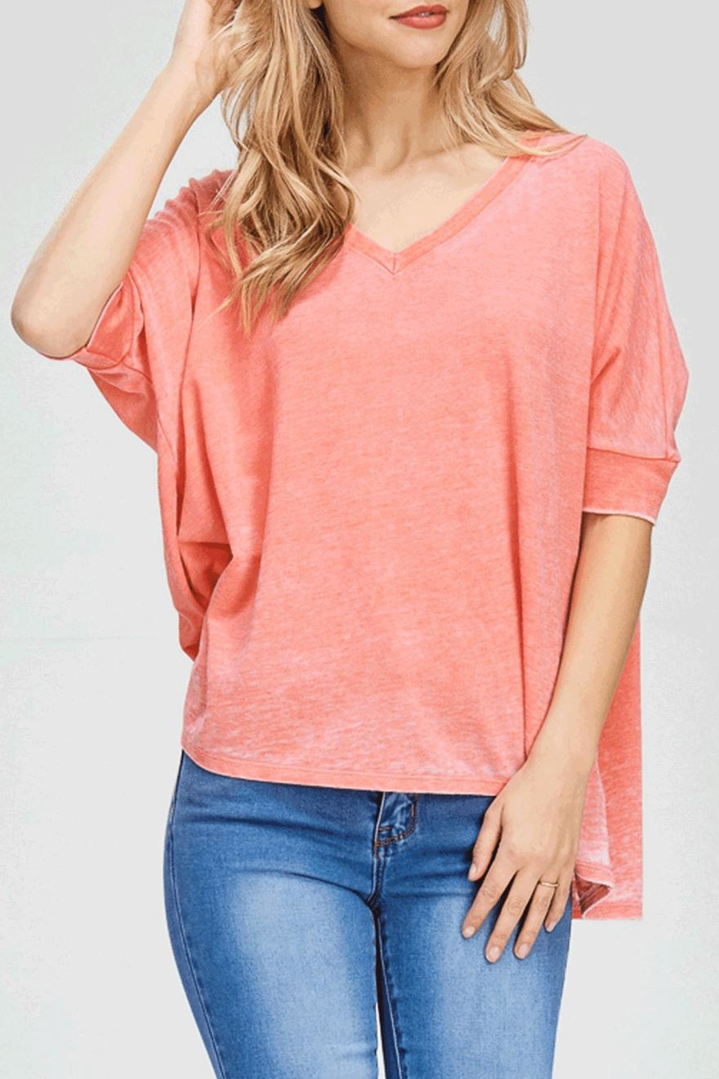Maronie  Natalie Top Pink - Front Full Image