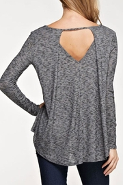 Maronie  Open Back Top - Front cropped