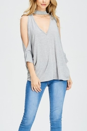 Maronie  Open Shoulder Top - Product Mini Image