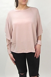 Maronie  Open Sleeve Top - Product Mini Image