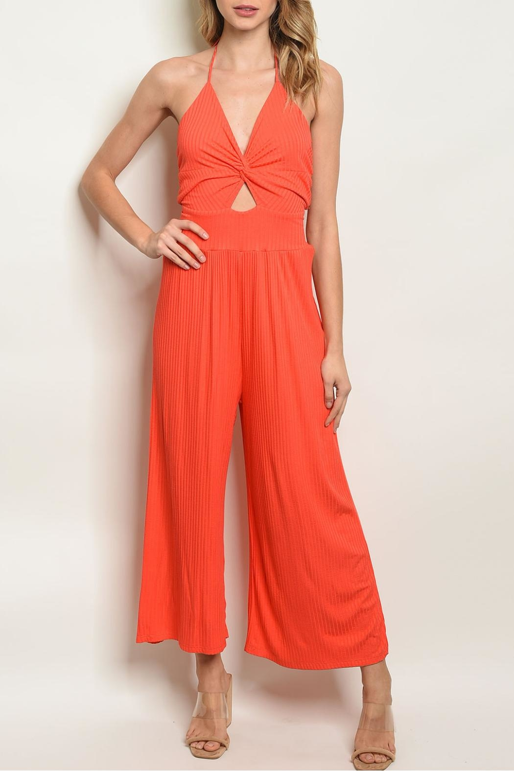 Maronie  Orange Jumpsuit - Main Image