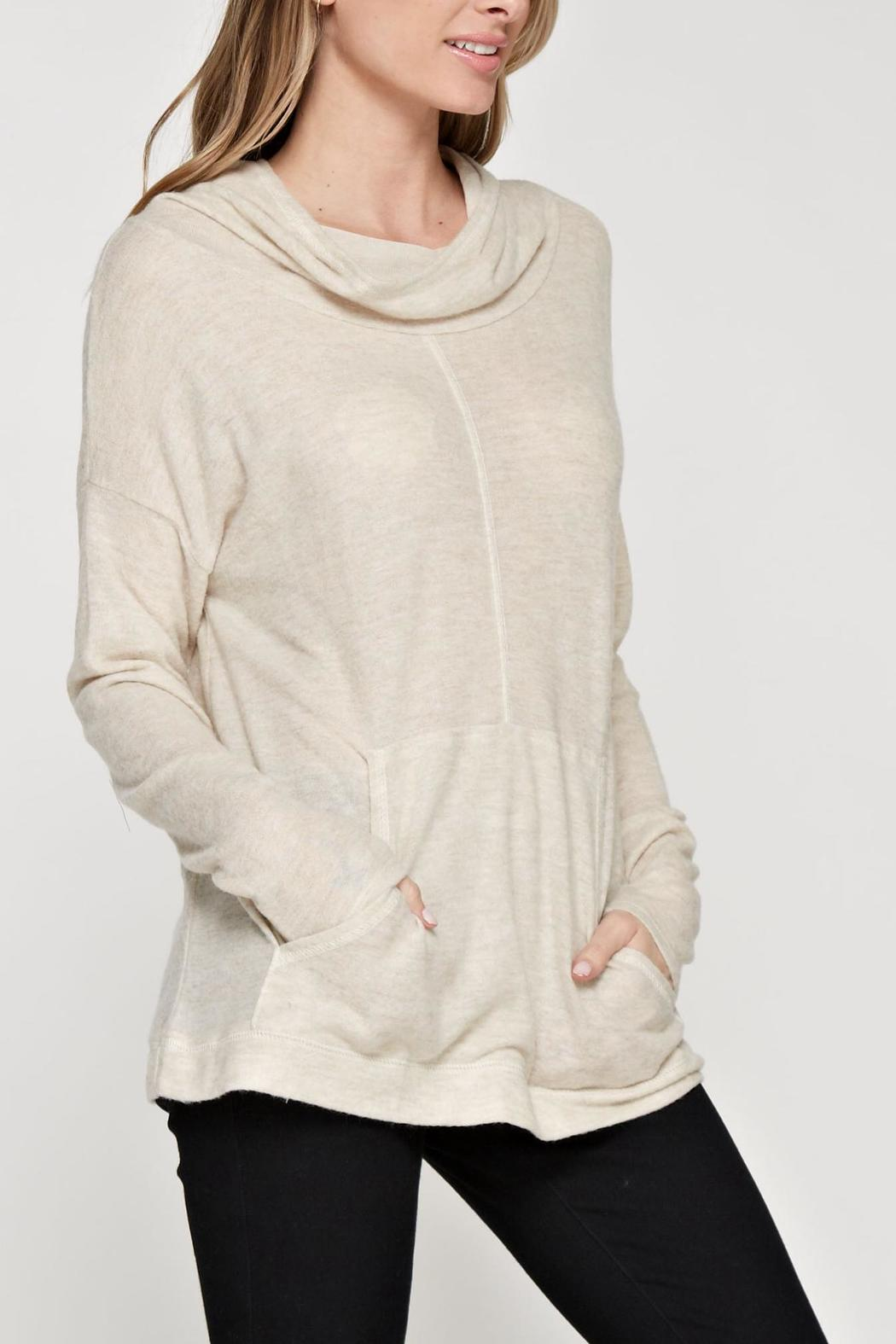 Maronie  Soft Comfy Hoodie - Side Cropped Image