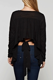 Maronie  Tie Back Top - Front cropped