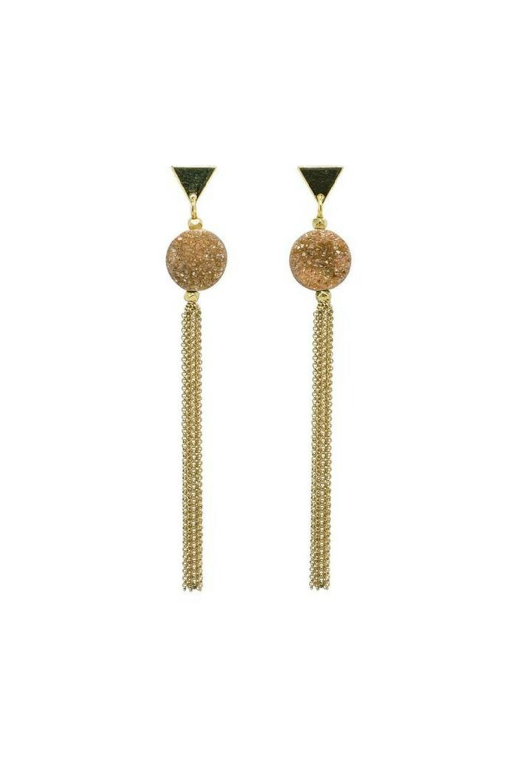 Marquet Laila Earrings - Front Cropped Image
