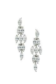 Wild Lilies Jewelry  Marquise Crystal Earrings - Product Mini Image
