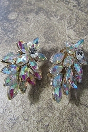 Sophia MARQUISE GEM CLUSTER CLIP EARRING - Product Mini Image