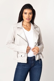 Marrakech Suede Belted Jacket - Product Mini Image