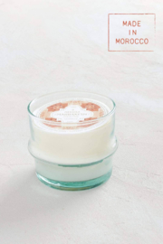 Mer Sea & Co Marrakesh Large Glass Candle 13oz - Front cropped
