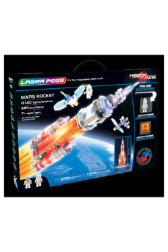 Laser Pegs Mars Rocket - Alternate List Image