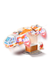 Laser Pegs Mars Shuttle - Product Mini Image