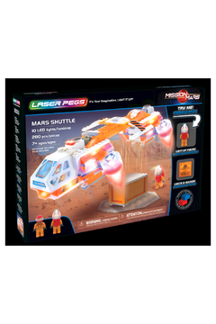Laser Pegs Mars Shuttle - Alternate List Image