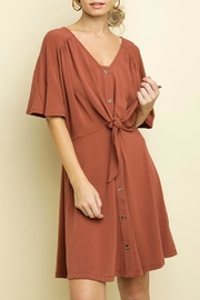 Imagine That Marsala Dress - Product Mini Image