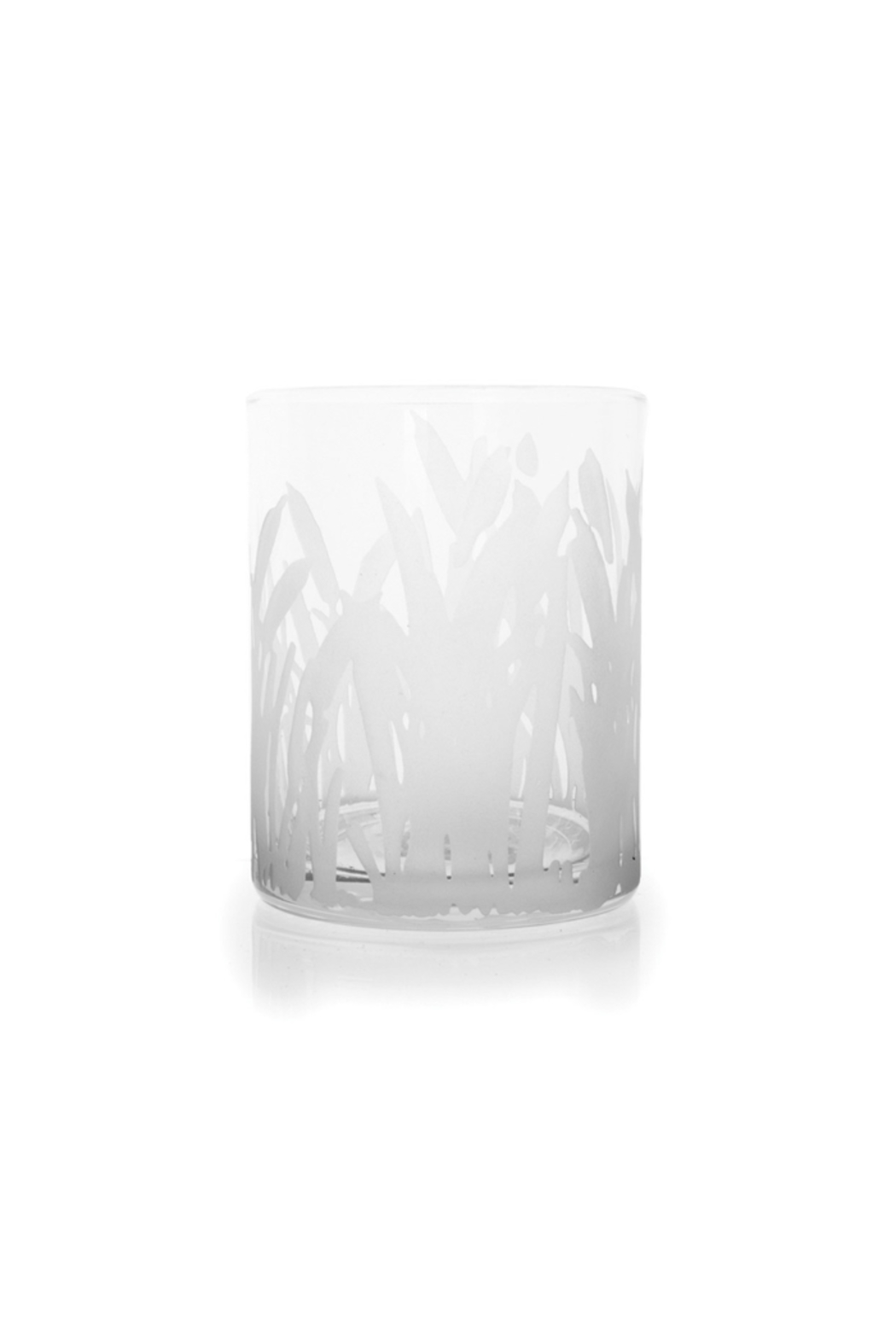 The Birds Nest MARSHLANDS DOUBLE OLD FASHION ETCHED GLASS - Main Image