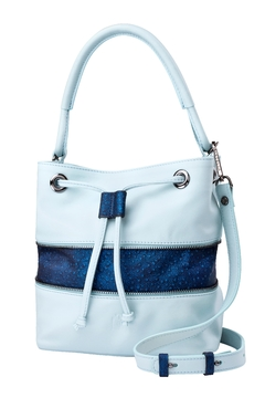 Shoptiques Product: Baby Blue Bucket Bag