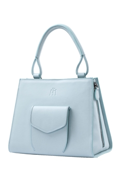 Shoptiques Product: Baby Blue Leather Handbag