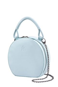 Martella Bags Baby Blue Leather Bag - Product List Image