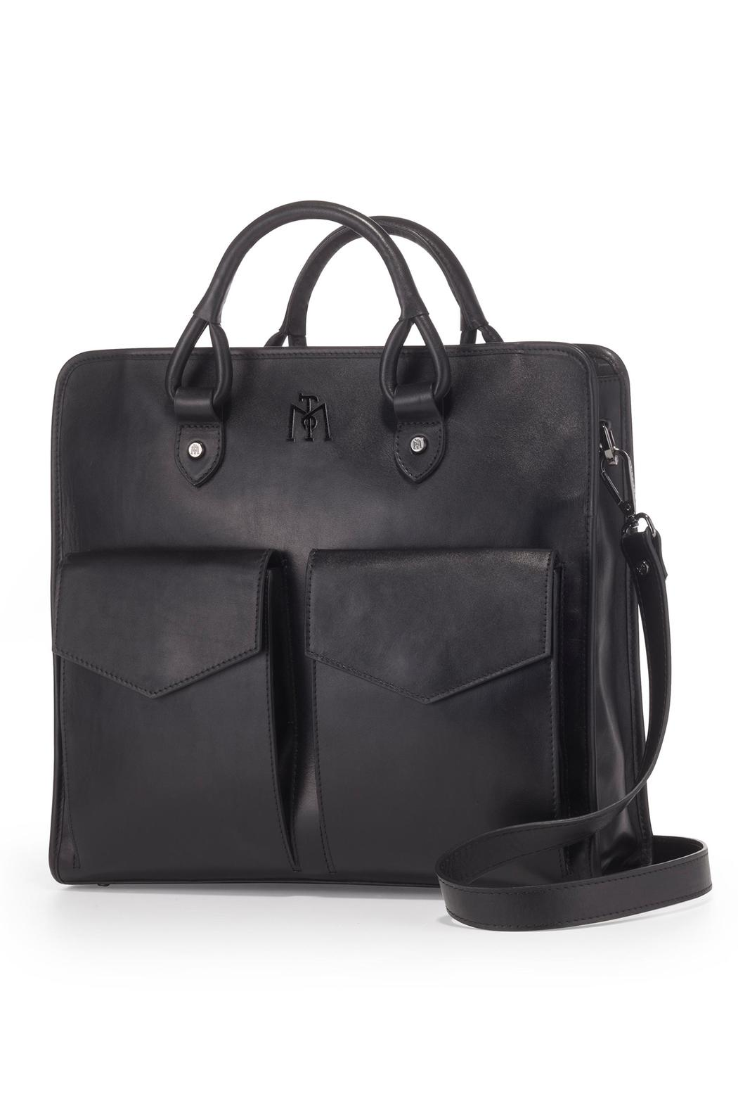 Martella Bags Black Leather Tote - Main Image