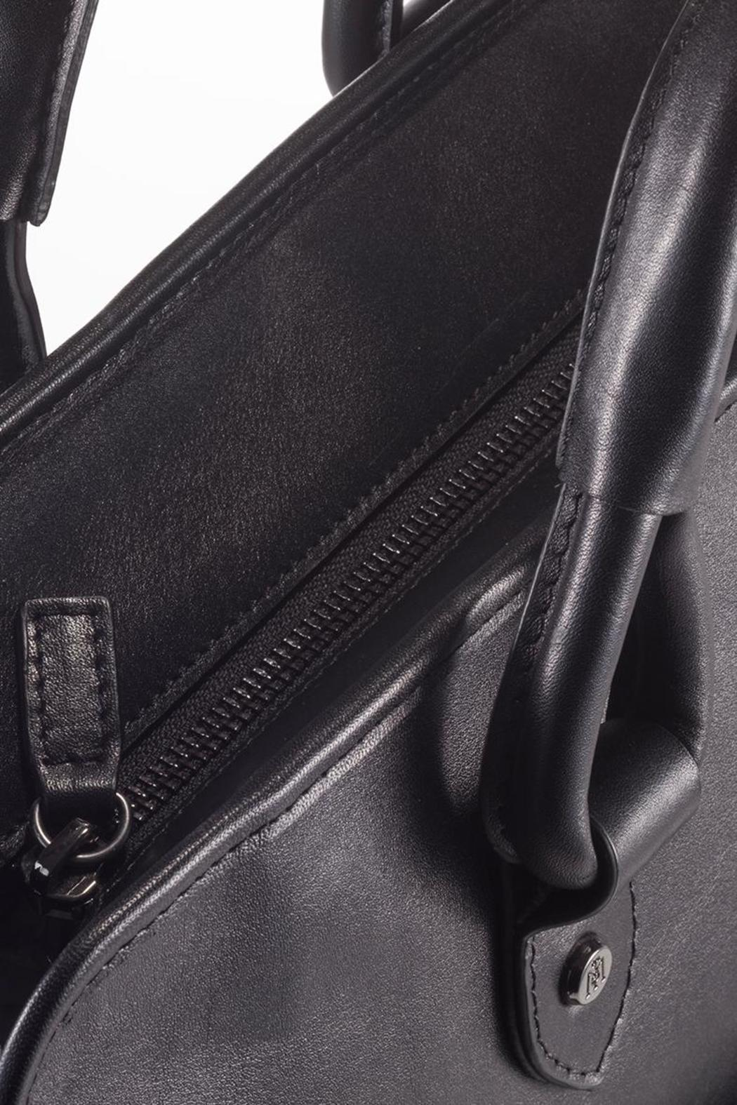 Martella Bags Black Leather Tote - Front Full Image