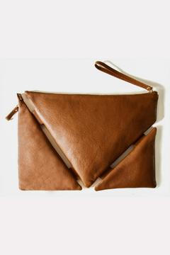 Martella Bags Brown Leather Clutch - Product List Image
