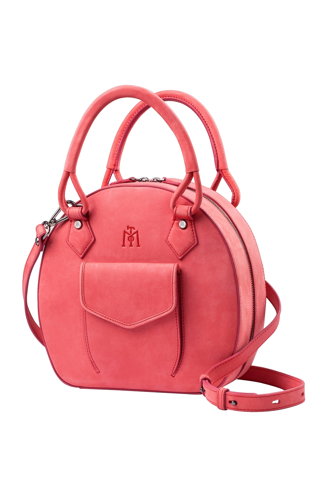 Martella Bags Coral Leather Bag - Main Image