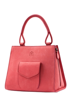 Shoptiques Product: Coral Leather Handbag