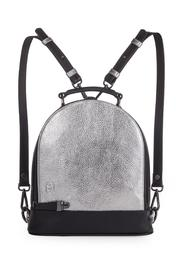 Martella Bags Metallic Leather Backpack - Front cropped