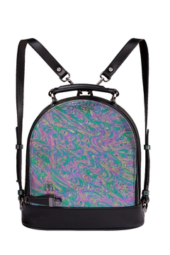 Martella Bags Multicolour Leather Backpack - Product List Image