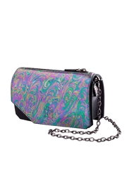 Martella Bags Multicolour Leather Clutch - Front cropped