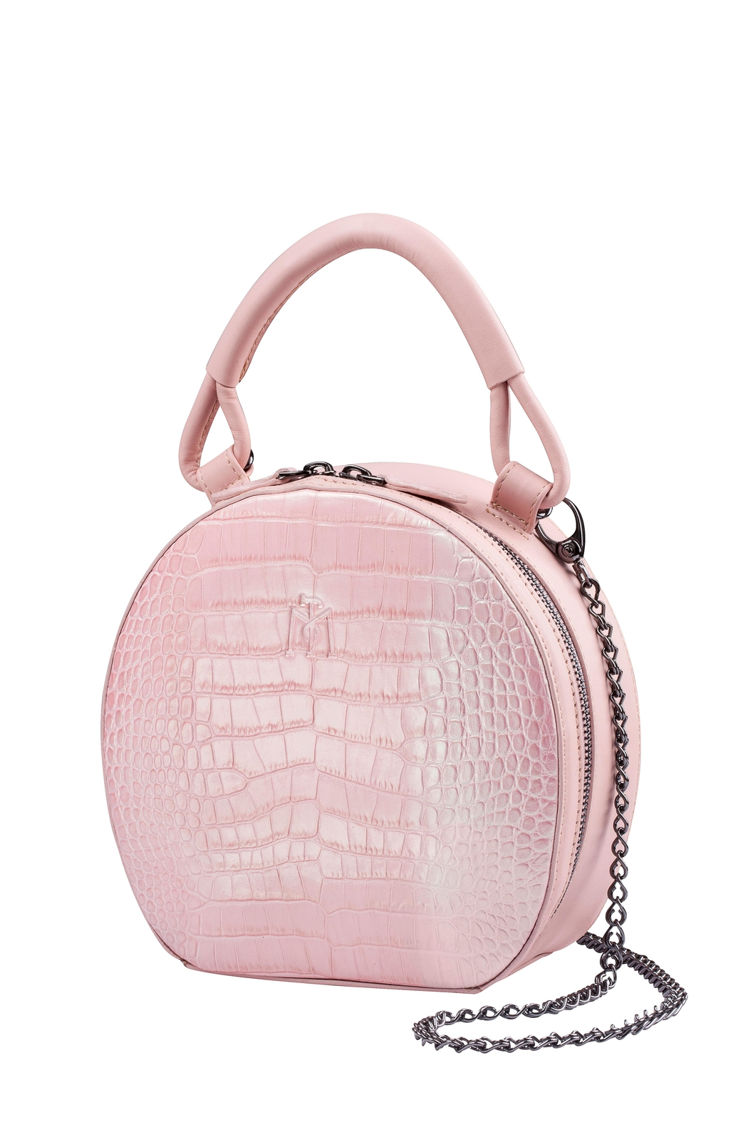 Martella Bags Pink Leather Bag - Main Image