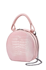 Martella Bags Pink Leather Bag - Front cropped