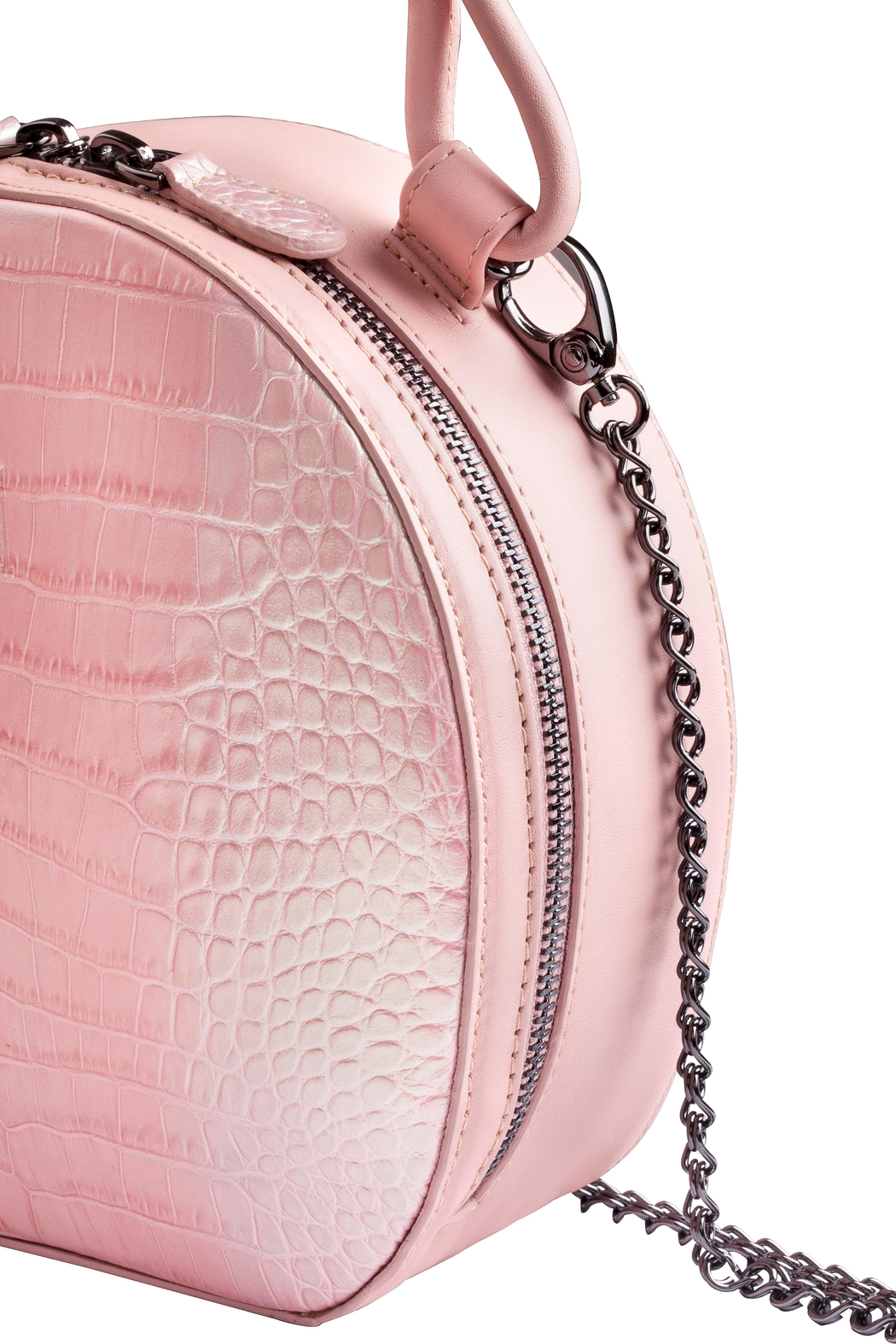 Martella Bags Pink Leather Bag - Front Full Image