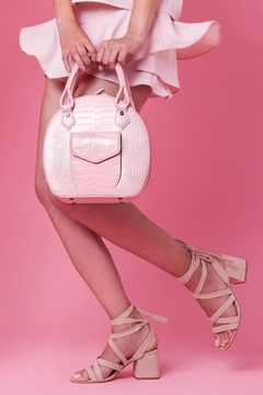 Martella Bags Pink Leather Handbag - Alternate List Image
