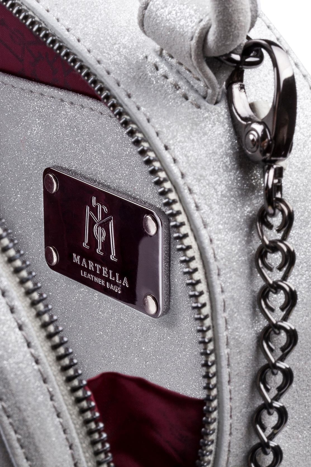 Martella Bags Shiny Leather Mini Bag - Front Full Image
