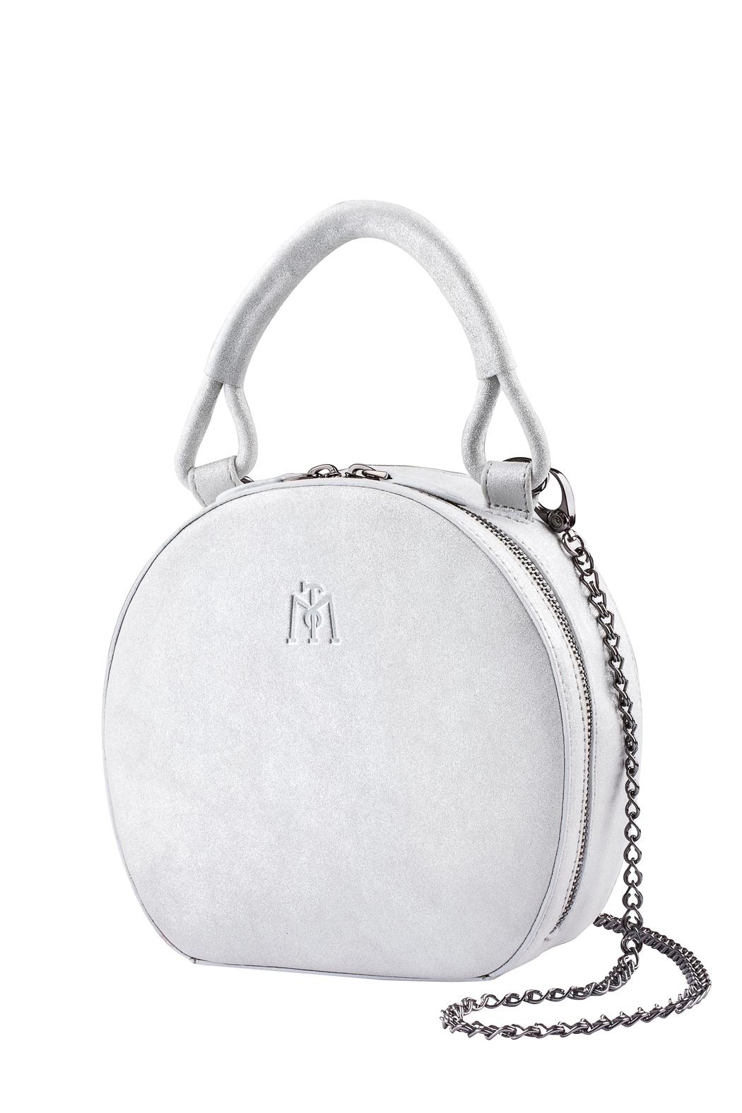 Martella Bags Shiny Leather Mini Bag - Front Cropped Image