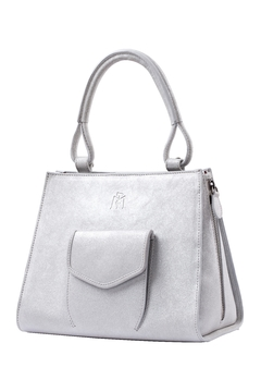 Shoptiques Product: Shiny Leather Handbag