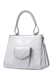 Martella Bags Shiny Leather Handbag - Product Mini Image