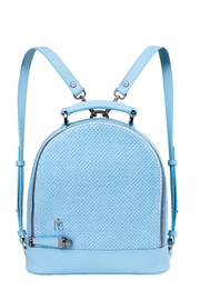 Martella Bags Vegan Baby Blue Backpack - Front cropped