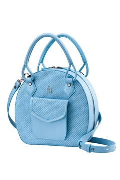 Shoptiques Product: Vegan Baby Blue Handbag