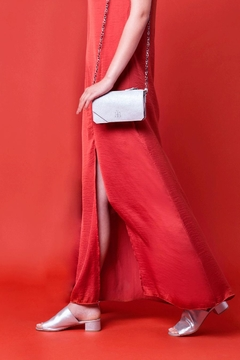 Martella Bags White Leather Clutch - Alternate List Image