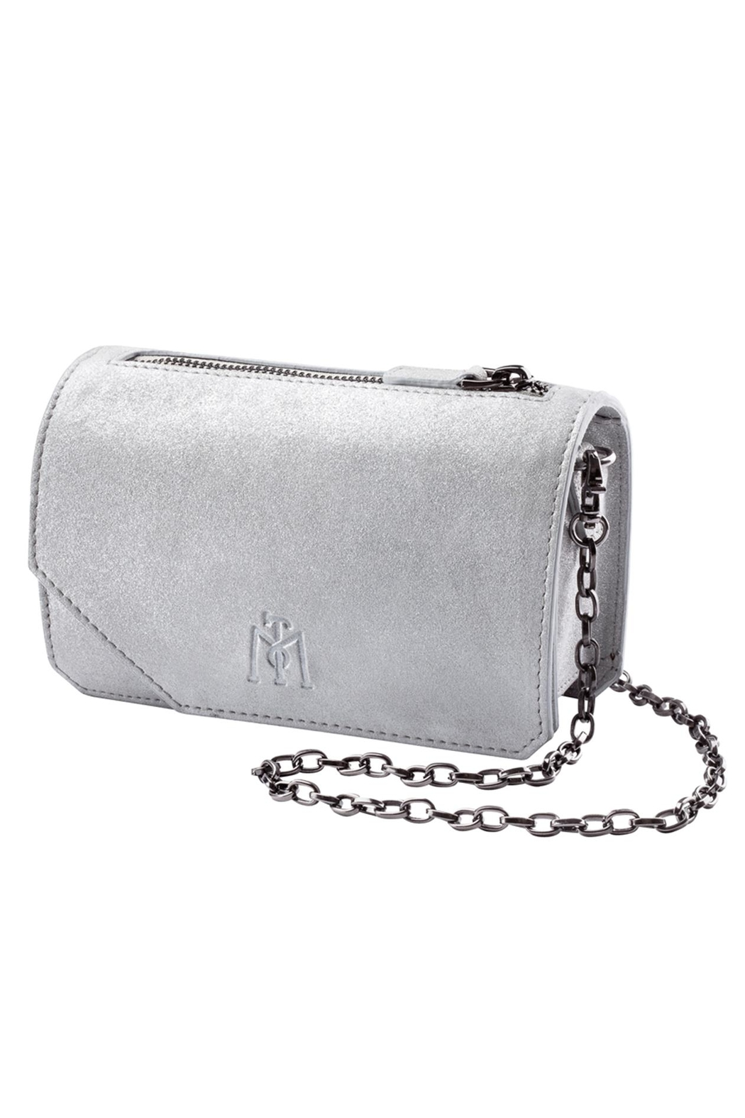 Martella Bags White Leather Clutch - Main Image