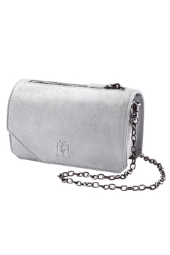 Shoptiques Product: White Leather Clutch