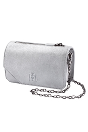 Martella Bags White Leather Clutch - Product Mini Image