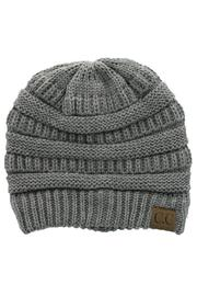 C.C. Light Grey Beanie - Product Mini Image