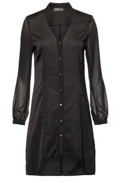 Shoptiques Product: Black Button Dress