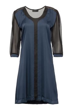 Shoptiques Product: Blue Trim Dress