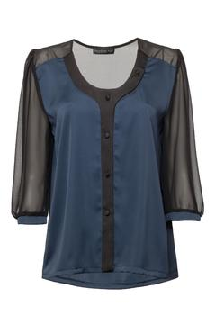 Shoptiques Product: Deep Blue Blouse