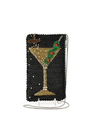 Mary Frances Martini Beaded Bag - Front cropped
