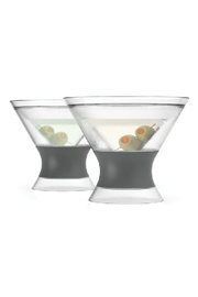 True Brands MARTINI FREEZECOOLING CUPS - Front cropped
