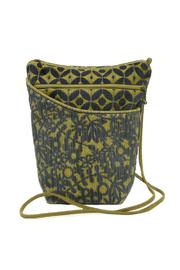 Maruca Blue Fabric Handbag - Front cropped