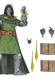Hasbro Marvel Vintage 6-Inch-Scale Dr. Doom Fantastic 4 Action Figure Toy, 10 Accessories, For Kids Ages 4 And Up - Product Mini Image